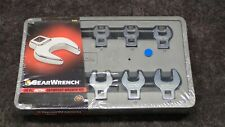 New! GearWrench 81909 - 10 pc. Metric Crowfoot Wrench Set with Tray