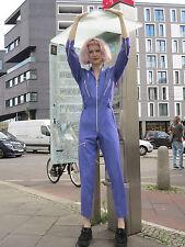 Miss Blitt Overall Einteiler lila 90er True VINTAGE woman jumpsuit 90s purple