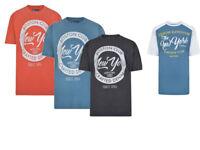 New Mens Kam Big Tall Boston New york Tee T-Shirt Shirt NY 2XL 3XL  4XL 5XL 6XL
