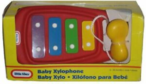 Little Tikes Baby Xylaphone (1999) Red Vintage Childrens Music Toy