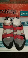 Scarpa rock climbing shoes