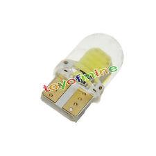 2x White T10 194 168 W5W 3W 8 SMD COB Super Bright SILICA LED Light Bulb DC 12V