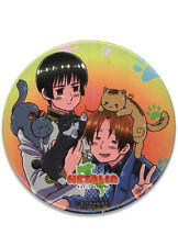 "NEW GE Hetalia World Series Playing with Cats 3"" Button GE82038 US Seller"