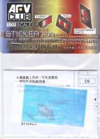 AFV Club 1/35 AC35014 Sticker Anti Reflection Coating Lens for Merkava Mk.IV