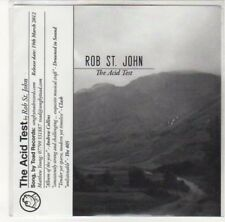 (DK530) Rob St John, The Acid Test - 2012 DJ CD