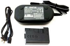 AC Adapter ACK-E10 for Canon EOS Rebel T3 T5, T6, 1100D, 1100DKISB 1200D, 1300D,