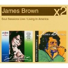 JAMES BROWN Soul Sessions Live & Living in America 2 CD