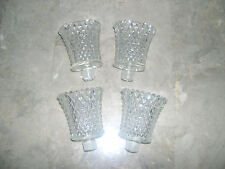Home Interior Clear Jewelite Votive Cups Set of 4