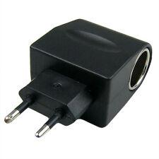 100-240V AC-DC EU Plug Car Cigarette Lighter Socket Power Converter Adapter New