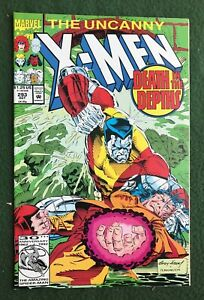 X-Men #293 Marvel Comic Copper Age Storm Colossus Wolverine vf