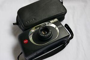 Leica mini Z2X black Kompaktkamera mit V-Elmar 35-70mm m.Tasche Top! Mint!