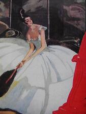 Buvard et Illustration Aux Galeries Lafayette 1922 Les robes Domergue Boileau...