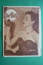 BELLA 10/1952 MODA EDY DELLA VALLE VISTO ALLA RADIO ENRICO LUZI CORRADO LOJACONO