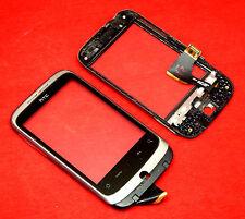 Original HTC wildfire Buzz a3333 a3335 écran tactile numériseur verre Cadre Frame