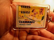 ELVIS PRESLEY   CLAMBAKE    FILM POSTER  LARGE   KEY RING