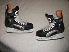 GAME USED BUFFALO SABRES ICE HOCKEY SKATES EASTON SYNERGY 1100 SZ 8 GREAT SHAPE