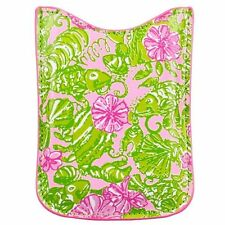"Lilly Pulitzer Cellphone Padded Pouch ~print ""Chum Bucket""~ new"