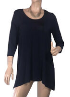 🌻 BLUE ILLUSION SIZE S NAVY BLUE TUNIC STYLE TOP