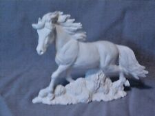 Horse Running READY TO PAINT CERAMIC BISQUE Large 8.5 inch Stallion Mustang