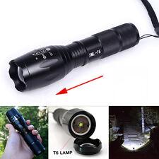 10000 Lumens XML T6 LED Flashlight G700 Zoomable Waterproof 18650/AAA Torch lamp