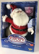 Rudolph The Red Nosed Reindeer Talking Santa Claus Ultimate Action Figure #6723