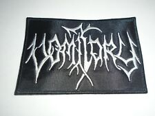 VOMITORY DEATH METAL EMBROIDERED PATCH