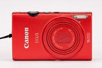 Canon IXUS 125 HS Kompaktkamera Digital Kamera Camera -  weinrot