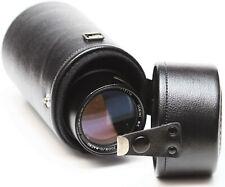 """Vintage Vivitar 6"""" Hard Lens Case For Prime Mid Range Zoom Telephoto Lenses"""