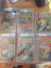 Silver Surfer Pgx No Cgc Cbcs Lot Silver Age Spiderman Collection 8 - 11 & 14 15