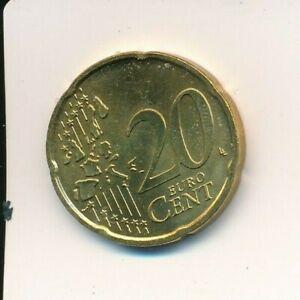 Fehlprägung: 20 Cent 2007 F mit alter Landkarte !