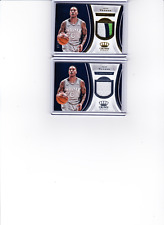 Jeff Teague 2018-19 Panini Crown Royale 2 Lot Gold Jersey Relic /10 + Base Relic