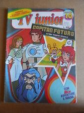 TV JUNIOR n°10  1981 Capitan Futuro Bia Apemaia  ed. ERI RAI  [G419A]