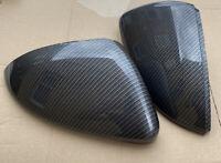 GMD Carbon Fibre Effect Mirror Covers L&R Fits VW Golf Mk7/7.5 R GTI GTD R-Line