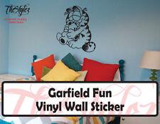 Garfield Fun Custom Wall Vinyl Sticker