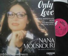 "NANA MOUSKOURI ~ Only Love ~ 12"" Single PS"