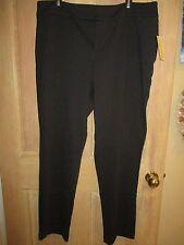 NWT MICHAEL KORS MK BLACK Dress Pants LADIES 18W RETAIL $99 Basics