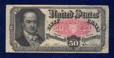 1875 50 cents United States Fractional Currency Paper Note Obsolete Currency
