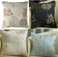 "Arden Cushion Covers Modern Tree Design In 4 Great Colours 17""(43cm) x 17""(43cm)"