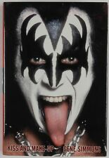 Gene Simmons KISS JSA Autograph Singed Book Kiss And Make-UP
