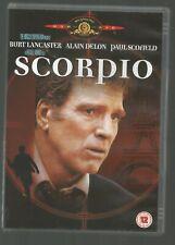 SCORPIO - Burt Lancaster / Alain Delon / Paul Scofield (1972) - UK REGION 2 DVD