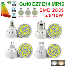 SMD 2835 E27 E14 Led Bulb floodlight 5W 8W 10W cup lamp Gu10 MR16 Spotlight 220V