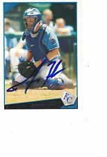 2009 Topps John Buck Kansas City Royals Authentic Autograph COA