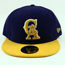 California Angels Unisex Hat NEW ERA Purple Fitted MLB Baseball 59FIFTY Cap