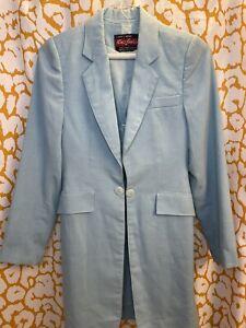 Light blue Youth Saddleseat Daycoat And Vest Set