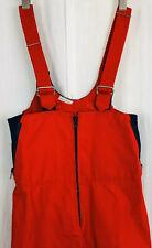VTG Gore-Tex Ski Bib Snow Pants Overalls CB Sports Men's sz 32 Medium Red M