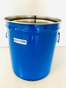 Resin mixer drum