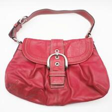 Authentic Coach SOHO Red Shoulder Bag F15204