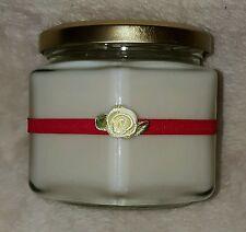 VANILLA Soy candela 13 FL OZ (ca. 384.46 ml) Medio barattolo di vetro