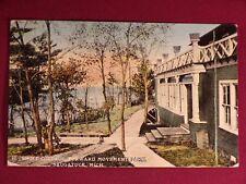 Antique 1913 Saugutuck Michigan Swift Cottage Postcard