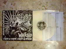 WRETCHED - LIBERO DI VIVERE... - CLEAR LP 1984 ORIGINAL ITALY hc punk VG+/EX KBD